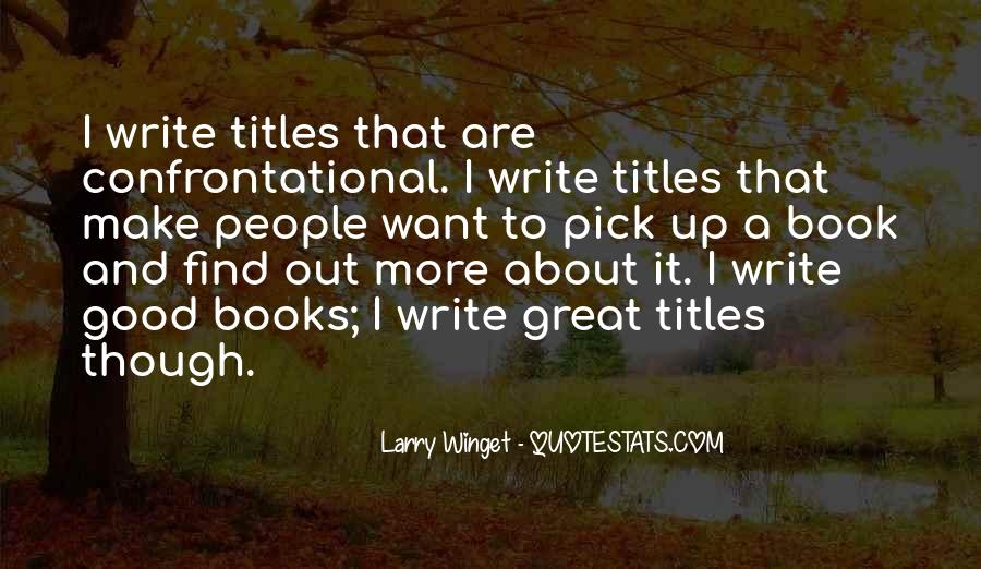 Book And Writing Quotes #73447