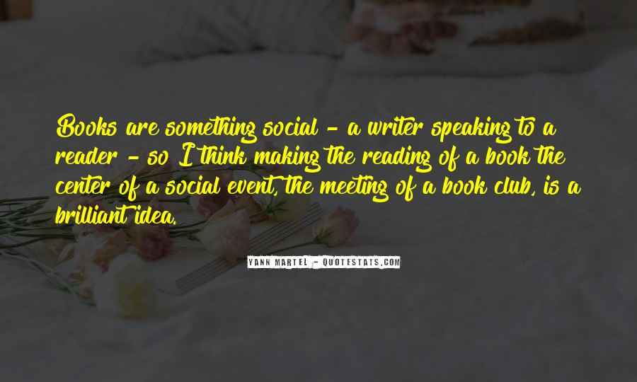 Book Club Reading Quotes #122475