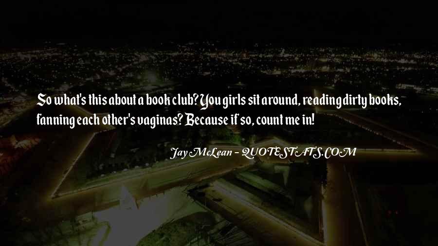 Book Club Reading Quotes #1826006