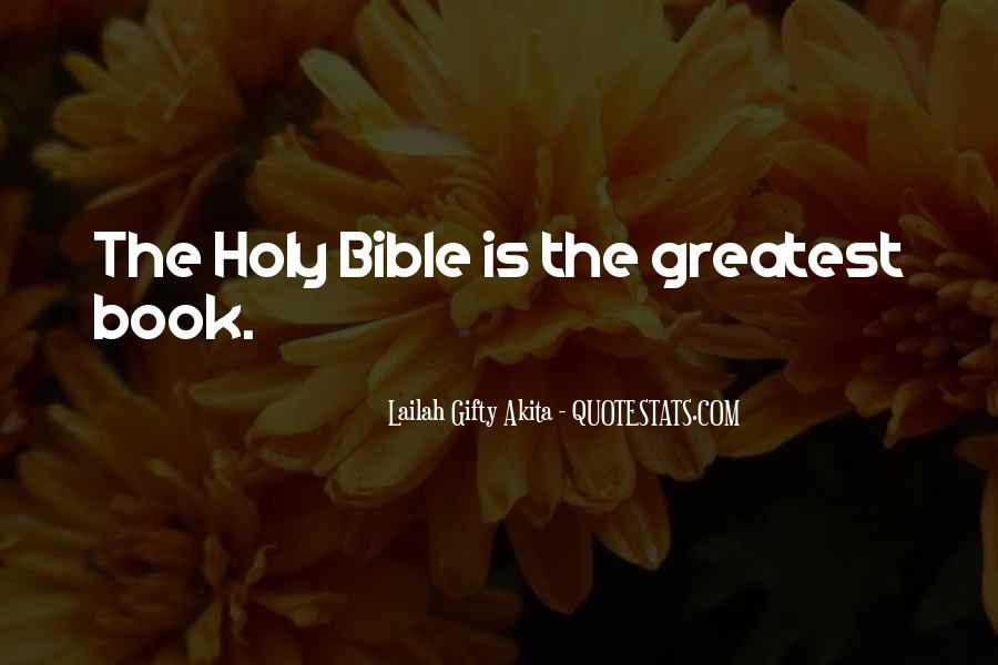 Book Of Bible Quotes #294772