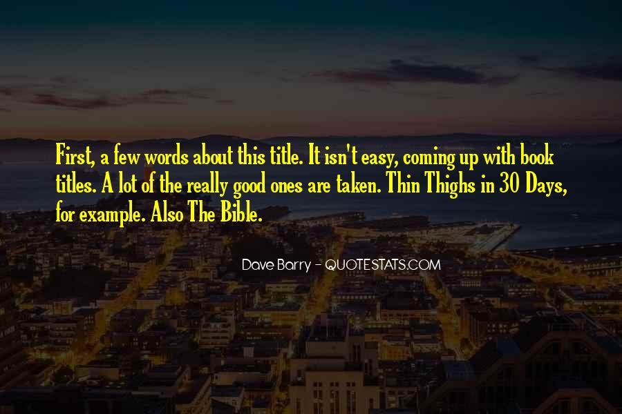 Book Of Bible Quotes #386349