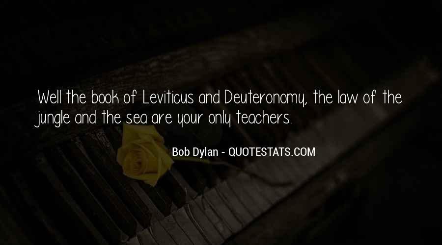 Book Of Deuteronomy Quotes #684270
