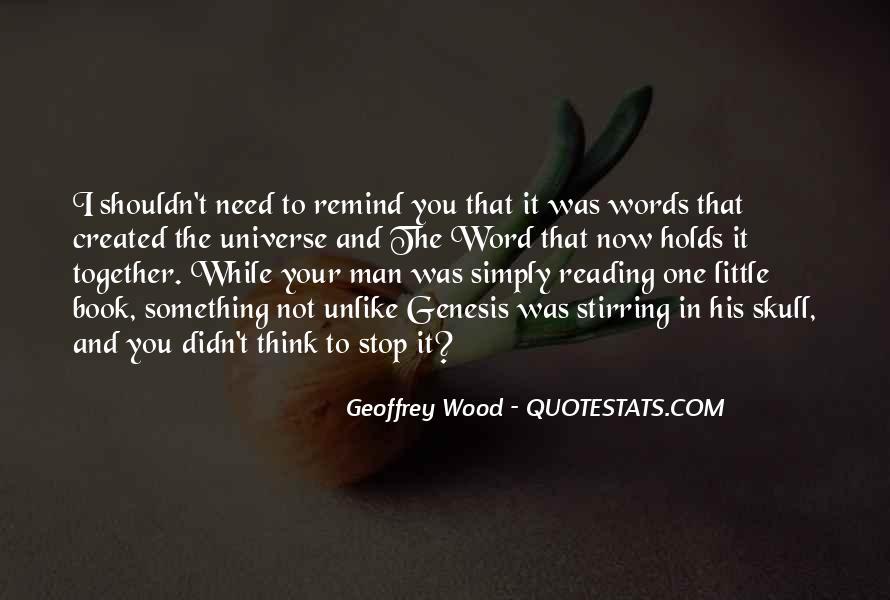 Book Of Genesis Quotes #1220239