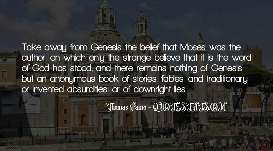 Book Of Genesis Quotes #349875