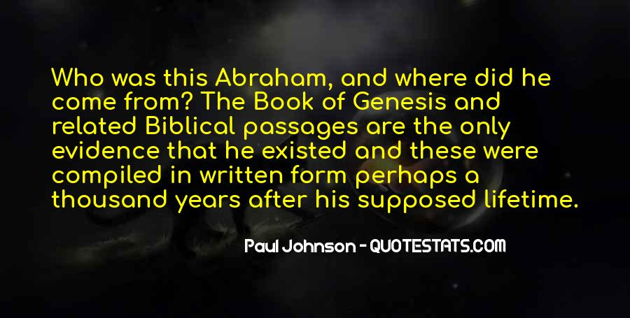 Book Of Genesis Quotes #473234