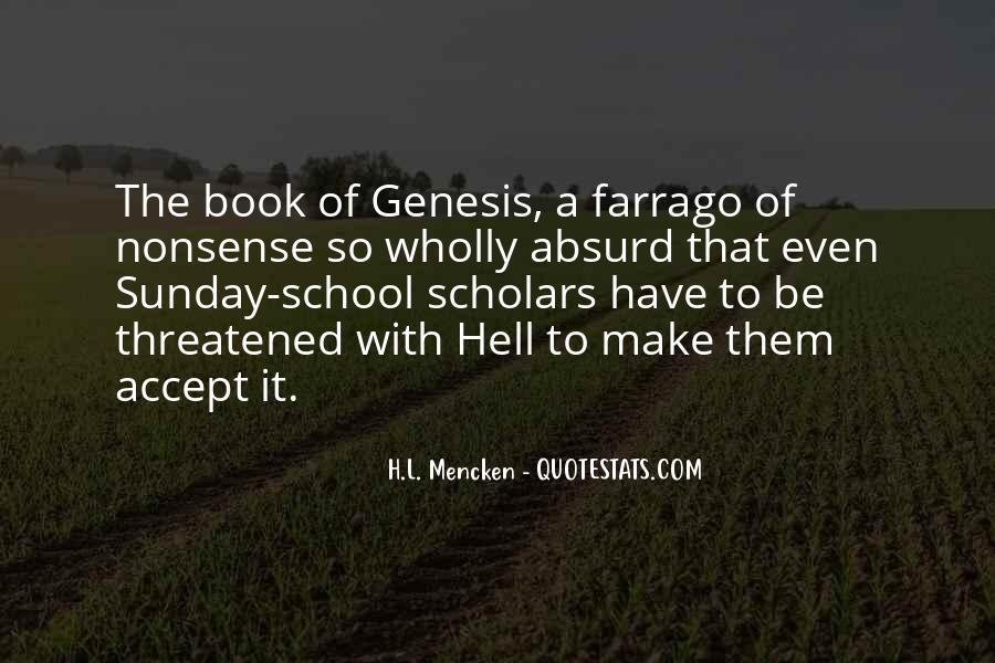 Book Of Genesis Quotes #755519