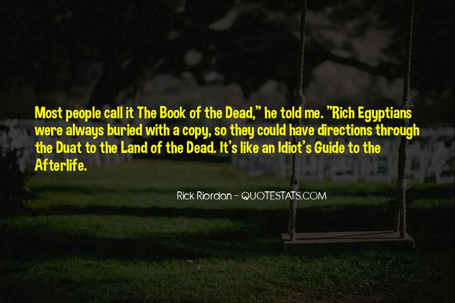 Book Of The Dead Quotes #1356549
