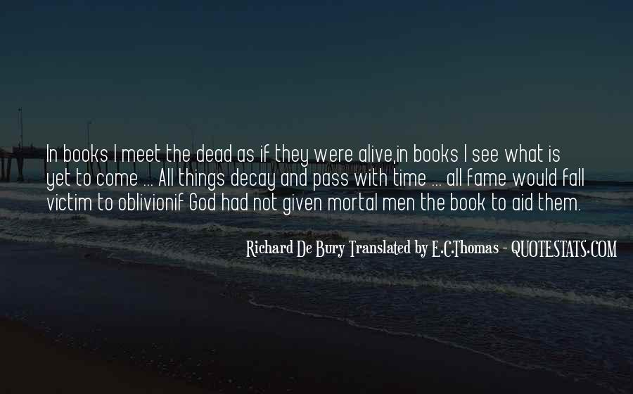 Book Of The Dead Quotes #1870532