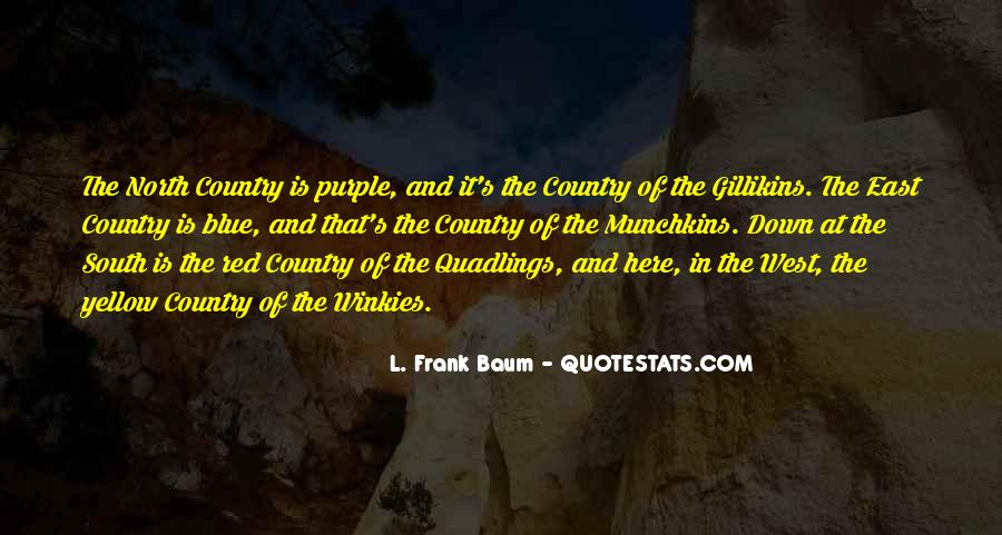 Quotes About The South West #1076562