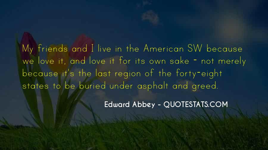 Quotes About The South West #1559182