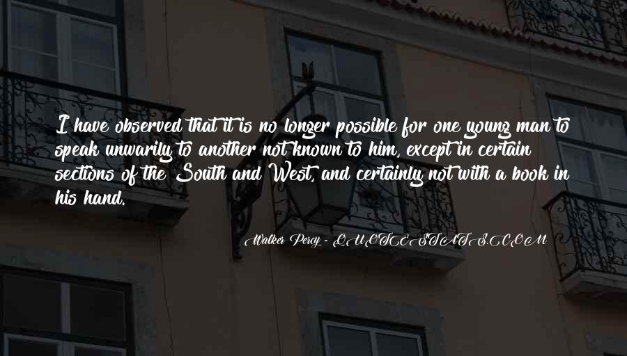 Quotes About The South West #231979