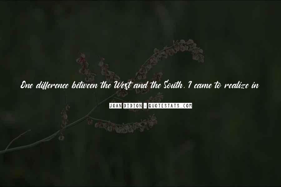 Quotes About The South West #404123