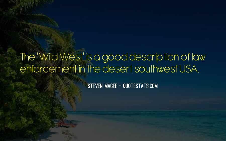 Quotes About The South West #583830