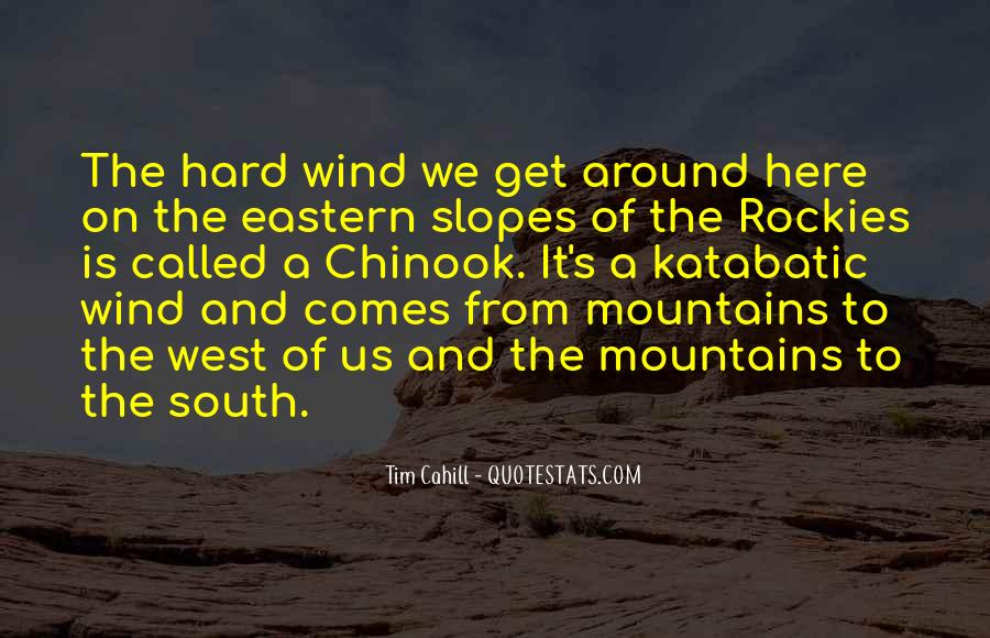 Quotes About The South West #943428