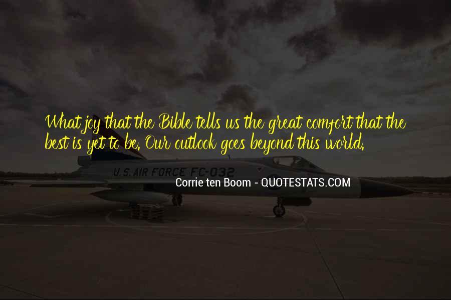 Boom Boom Quotes #11907