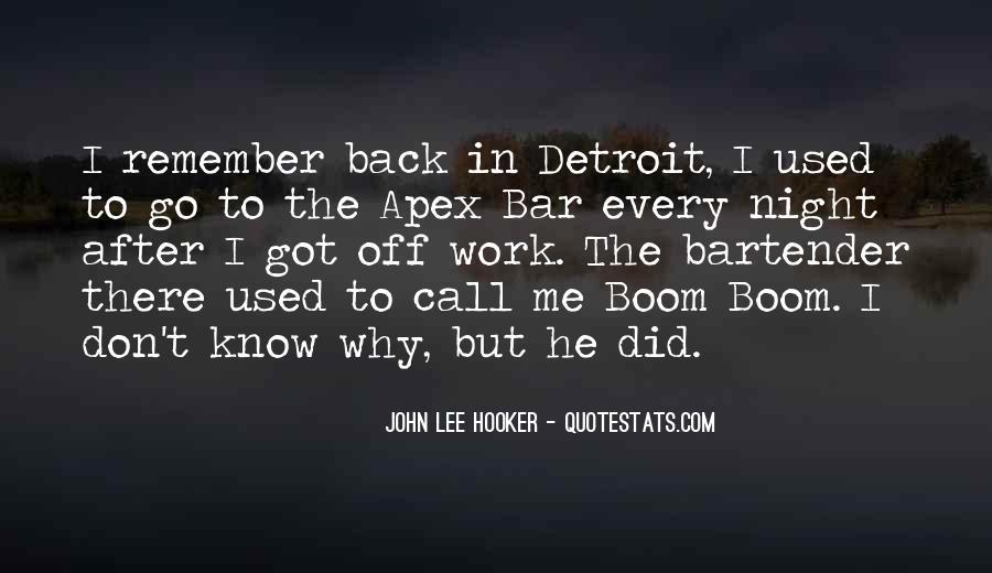 Boom Boom Quotes #234494