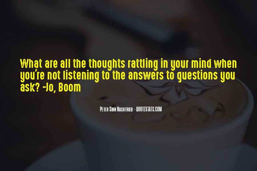 Boom Boom Quotes #254857