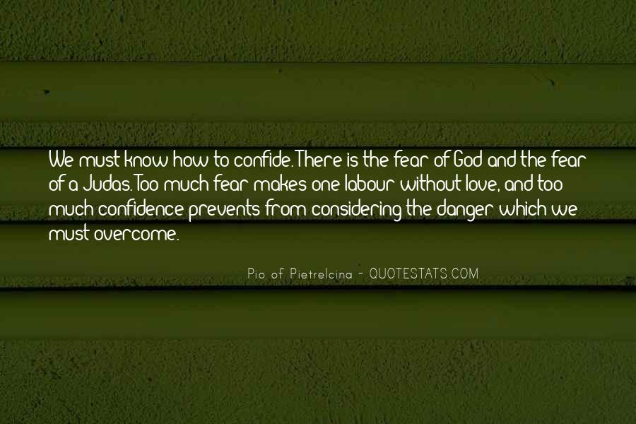 Quotes About Love Overcoming Fear #1379036