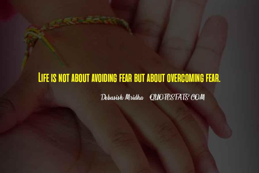 Quotes About Love Overcoming Fear #450233