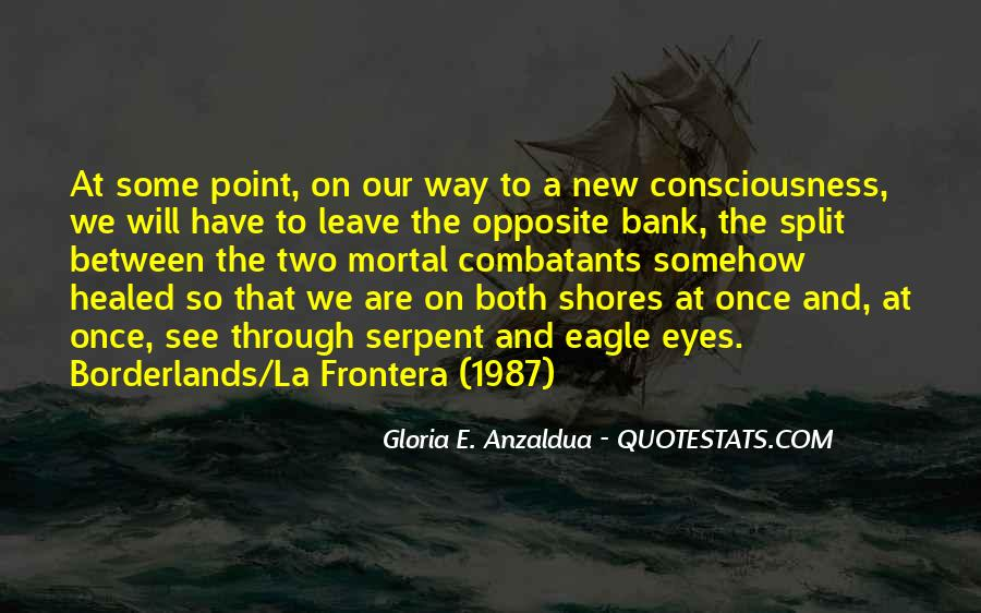 Borderlands Gloria Anzaldua Quotes #1028913
