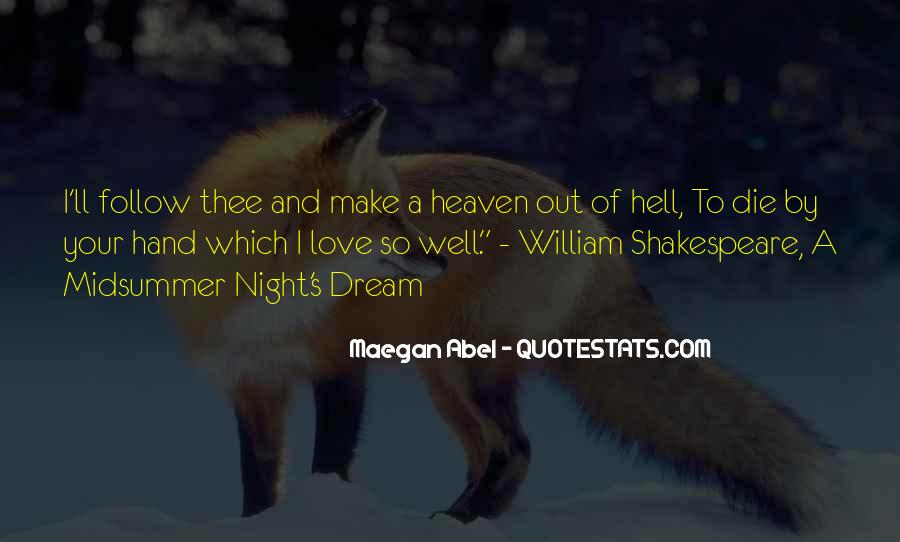 Quotes About Love Midsummer Night's Dream #1049952