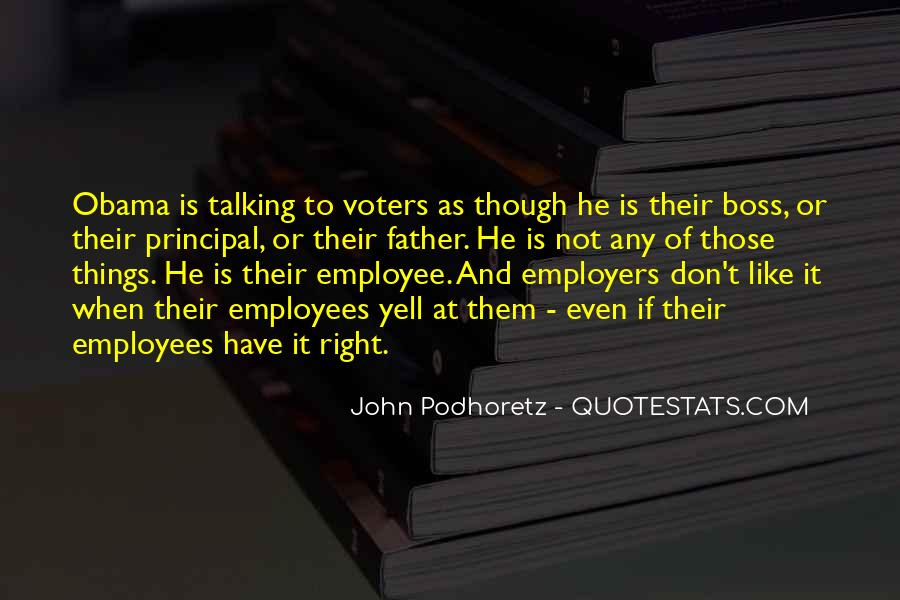 Boss And Employees Quotes #1605232