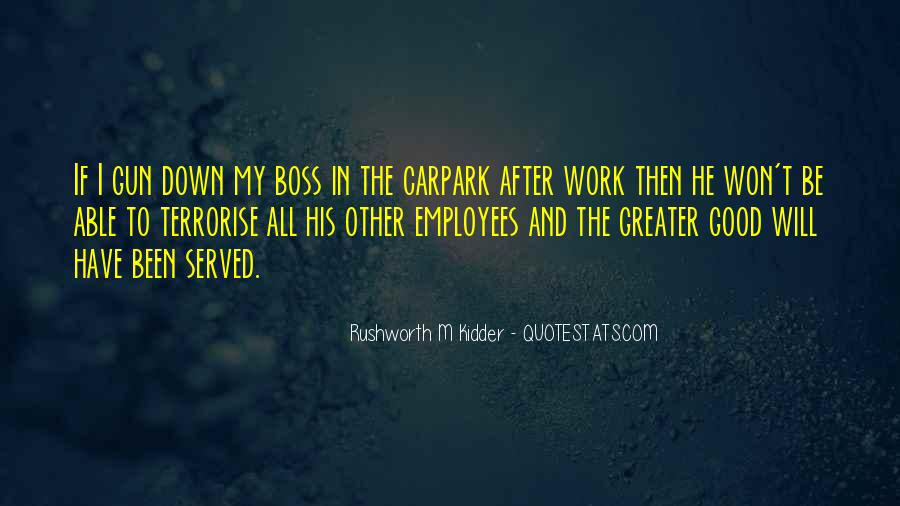 Boss And Employees Quotes #68950