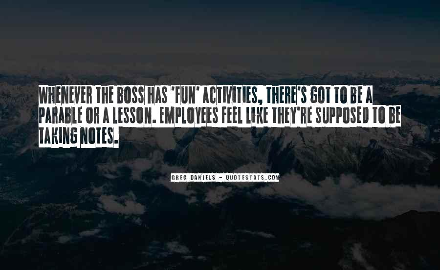Boss And Employees Quotes #745529