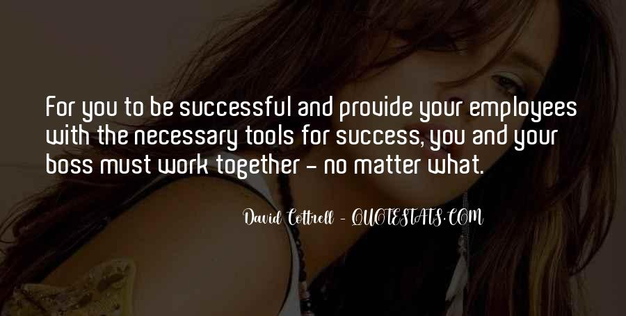 Boss And Employees Quotes #901597