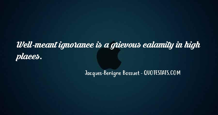 Bossuet Quotes #535548