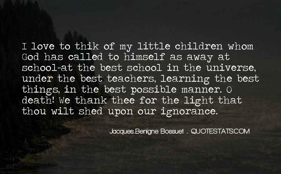 Bossuet Quotes #692532