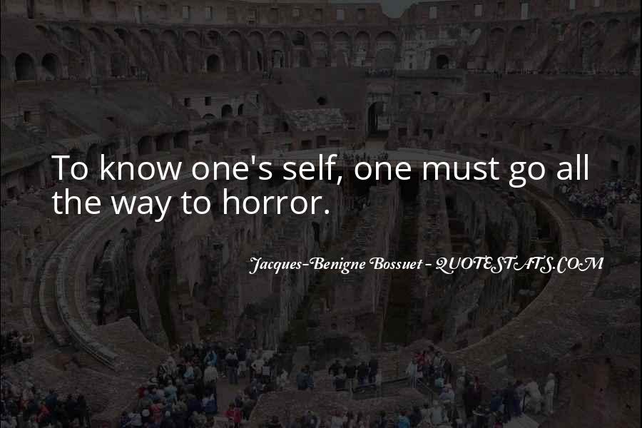 Bossuet Quotes #817250