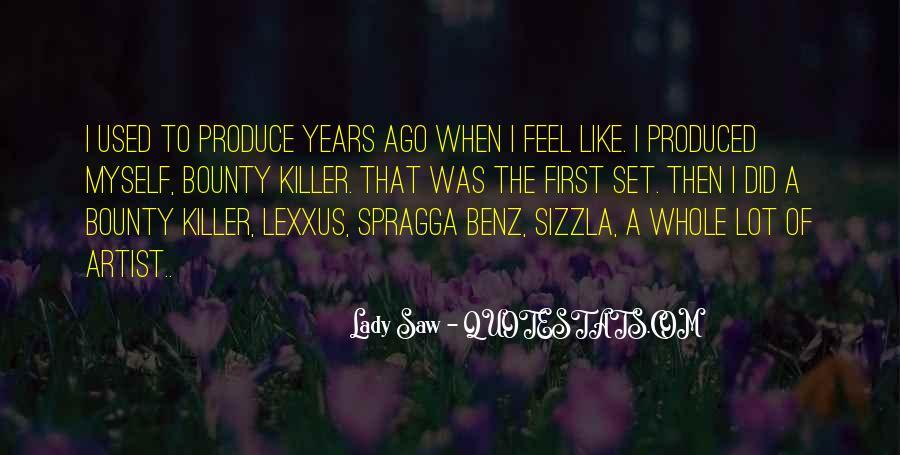 Bounty Lady Quotes #981692