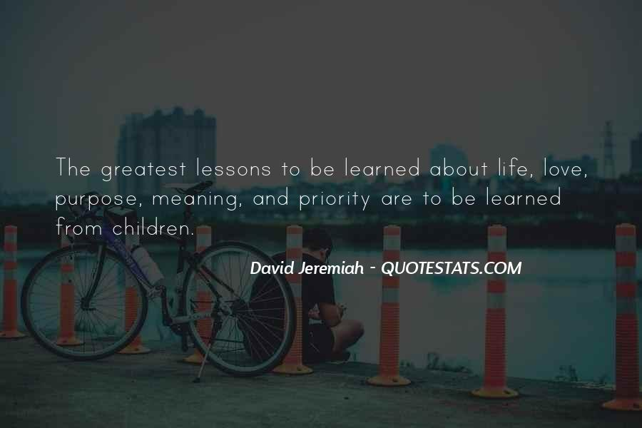 Quotes About Love Lessons Learned #1855989