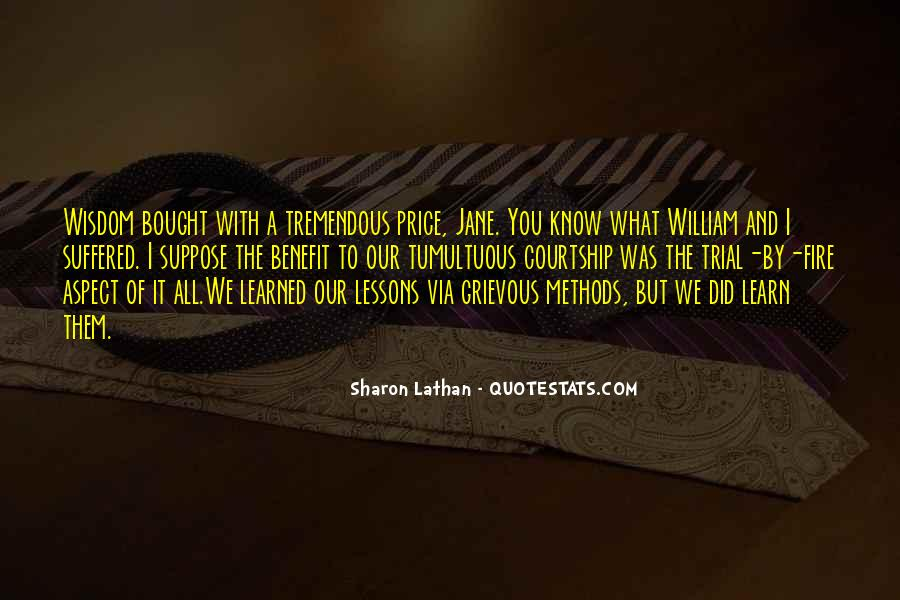 Quotes About Love Lessons Learned #1868134