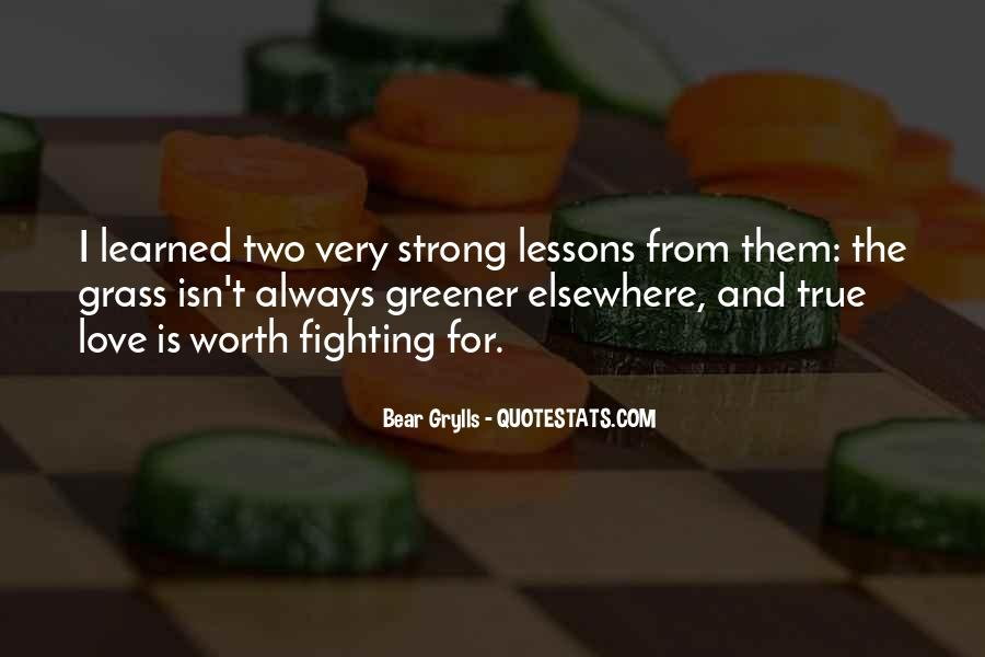 Quotes About Love Lessons Learned #24511