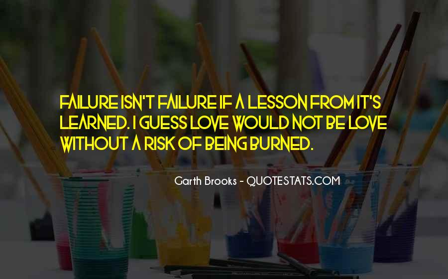 Quotes About Love Lessons Learned #401648