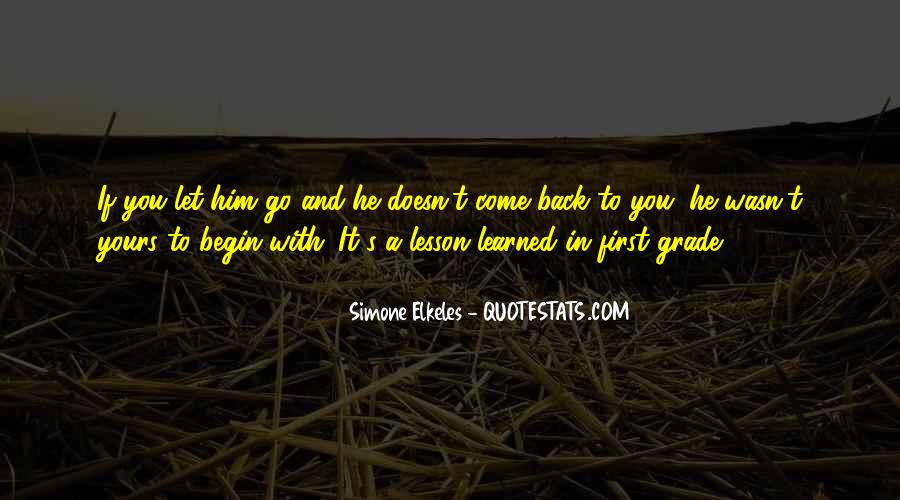 Quotes About Love Lessons Learned #515314