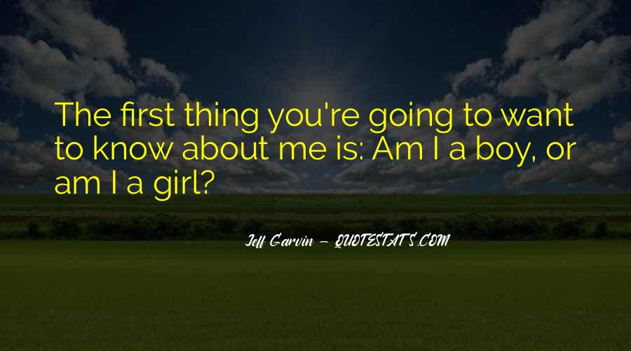 Boy Or Girl Gender Quotes #1614685