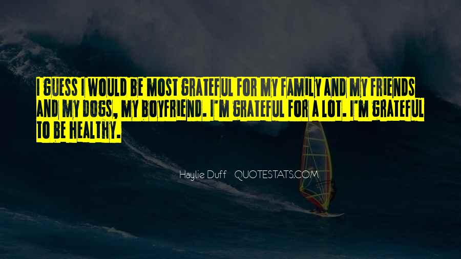 Boyfriend And His Family Quotes #412714