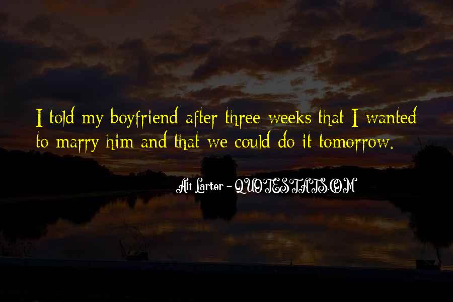 Boyfriend Wanted Quotes #1856505