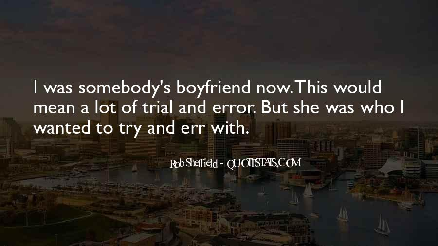 Boyfriend Wanted Quotes #948888
