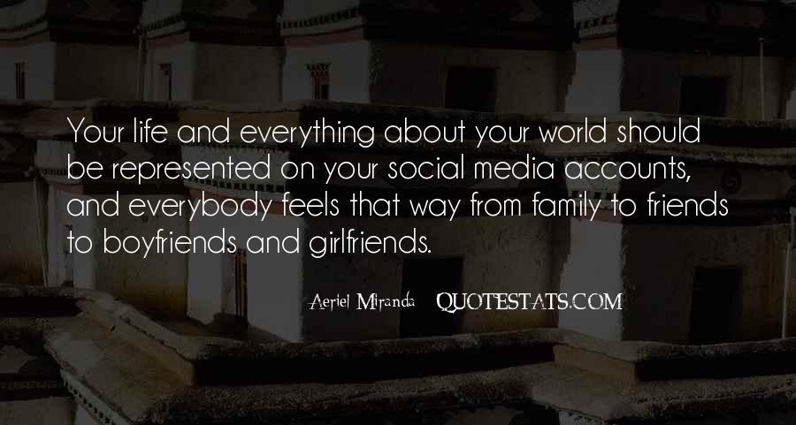 Boyfriends Ex Girlfriends Quotes #695460
