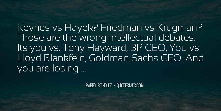Bp Tony Hayward Quotes #1323970