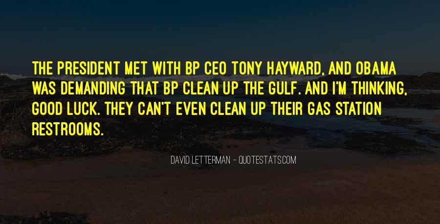 Bp Tony Hayward Quotes #587639