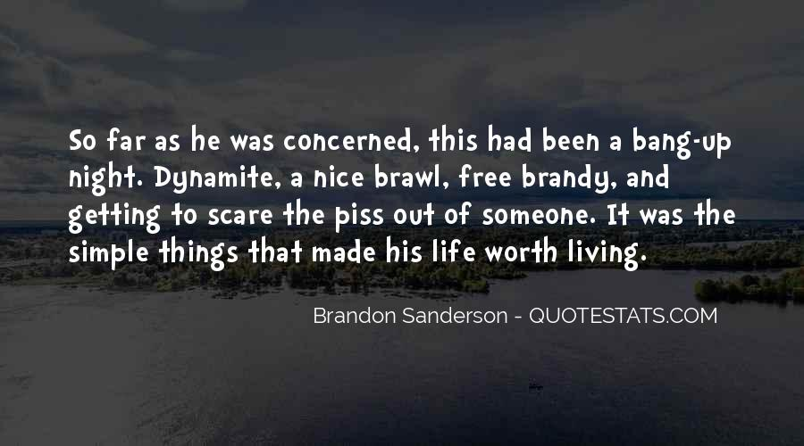 Brandy Life Quotes #263150