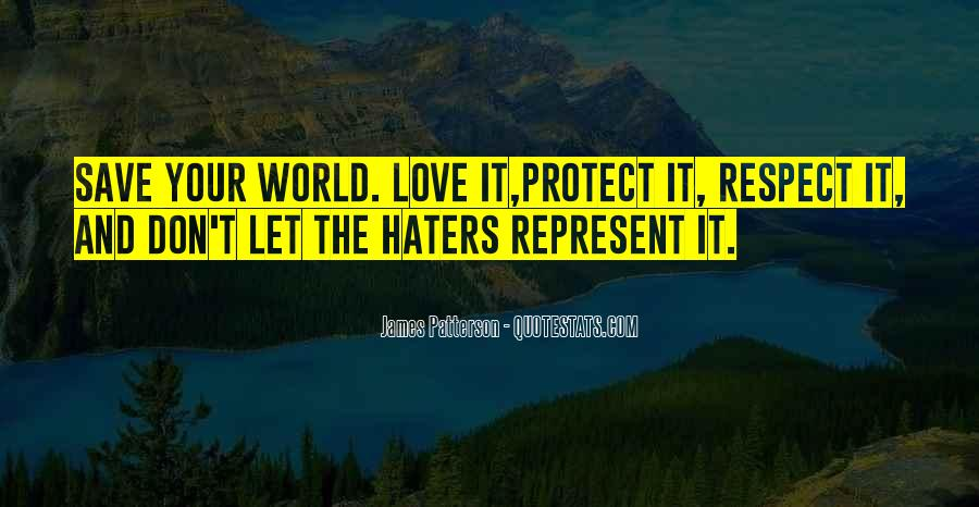 Quotes About Love Haters #356389