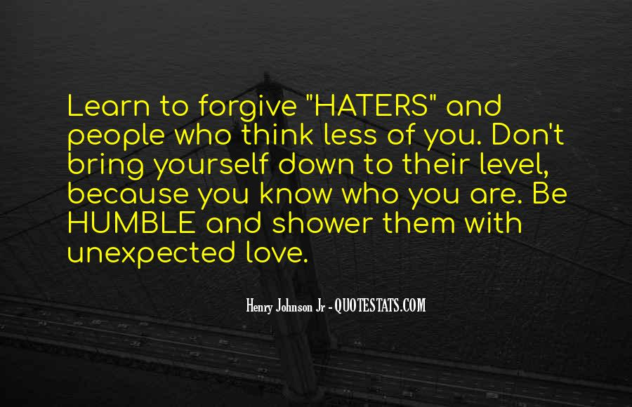 Quotes About Love Haters #83095