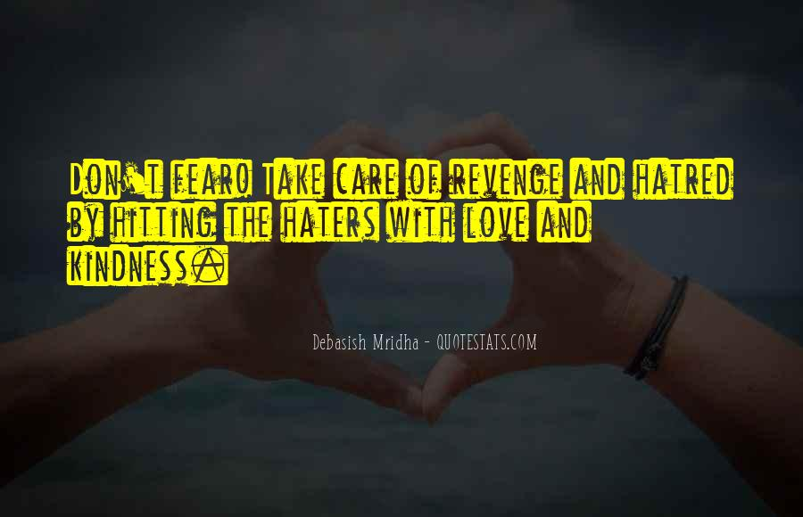 Quotes About Love Haters #898081