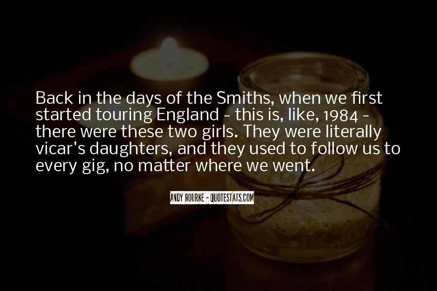 Quotes About The Smiths #1040082